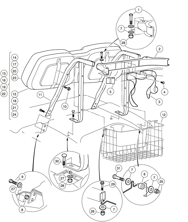 Car Seat Buckle Components Engine Diagram And Wiring Diagram