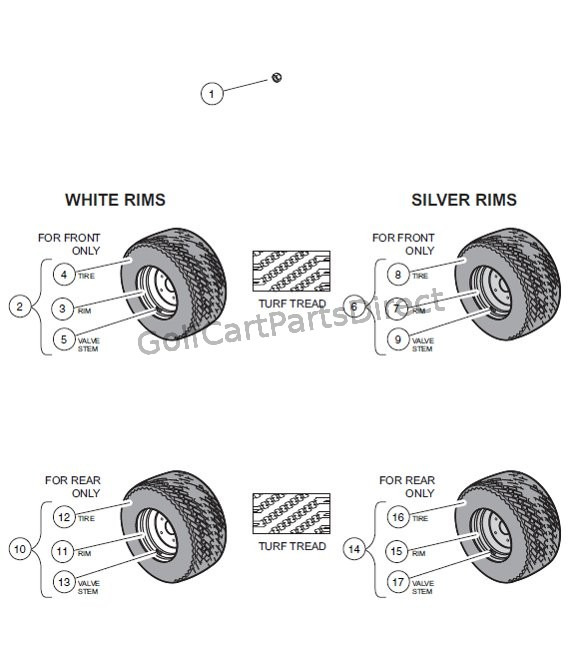 Image Result For Club Car Golf Cart Tires