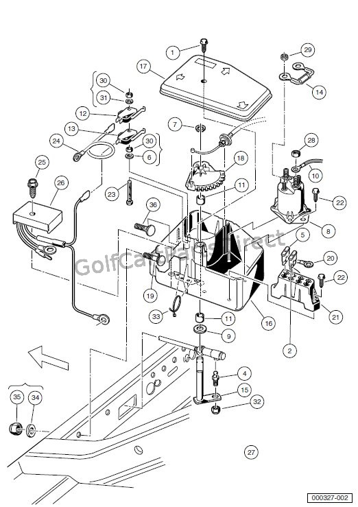 Wiring Diagram 2000 Club Car Golf Cart Gas