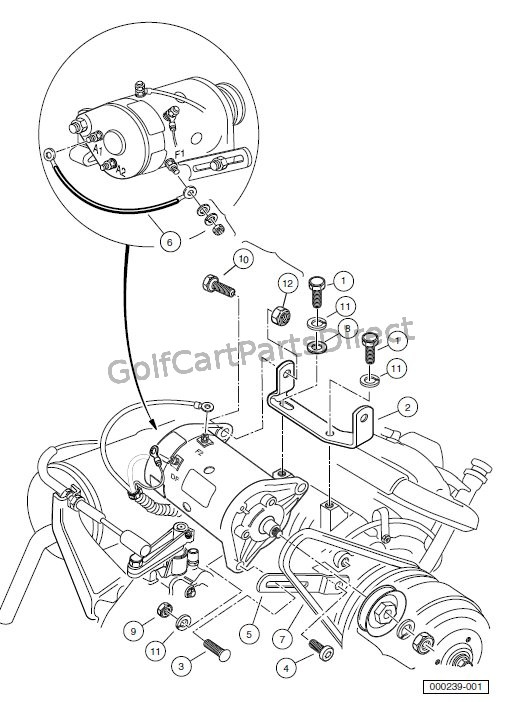 Kawasaki Golf Cart Starter Generator Wiring Diagram