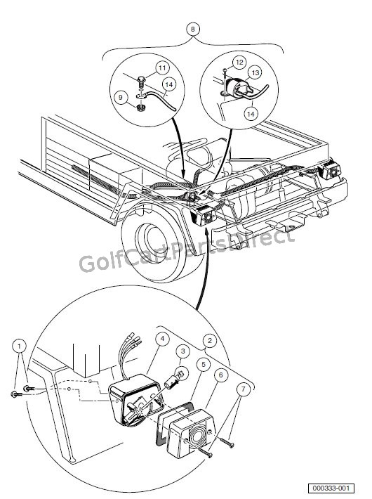 2000 2005 Carryall 1 2 6 By Club Car