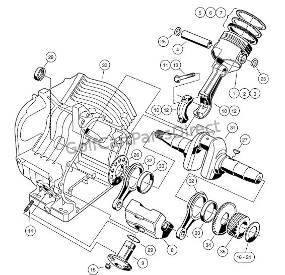 Club Car Fe290 Engine Diagram - Wiring Diagram •