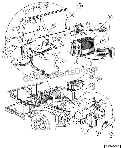 Club Car Obc Wiring Diagram : Obc computer controller and solenoid electric vehicle
