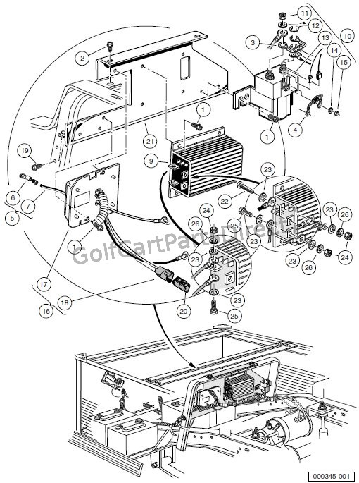 Club Car Obc Wiring Diagram : Club car ds iq solenoid wiring diagram