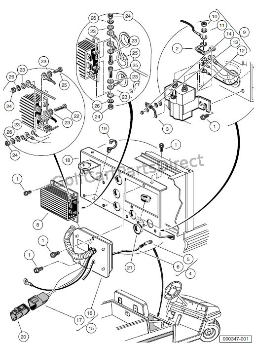 Gas Carryall 550 Wiring Diagram