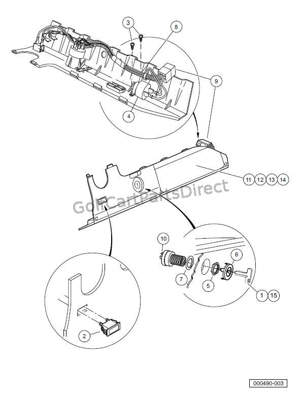 2008 Club Car Precedent Gas or Electric - Club Car parts & accessories