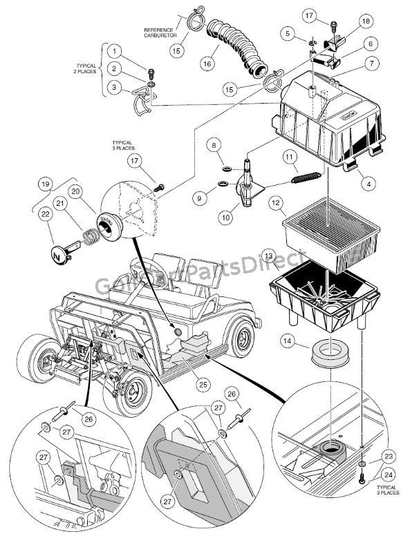 1998 Club Car Wiring Diagram 48 Volt