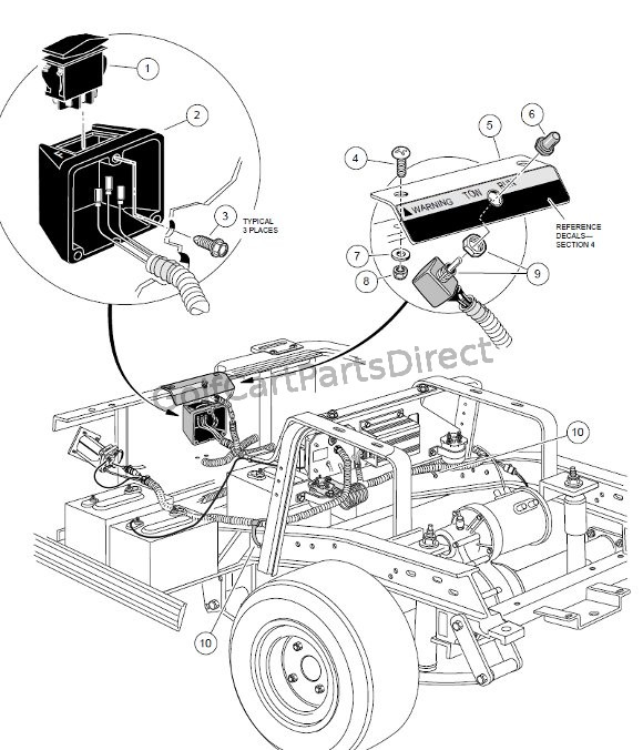 Club Car Motor Schematic Diagram