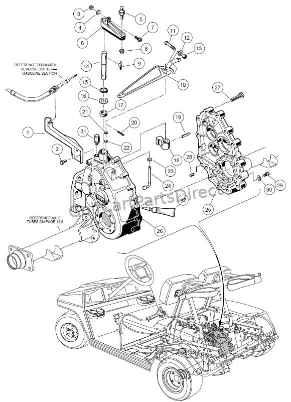 unitized transaxle - gasoline part 1