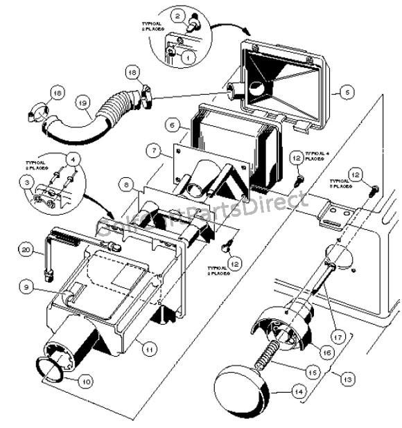 Club Car Carryall 1 Wiring Diagram