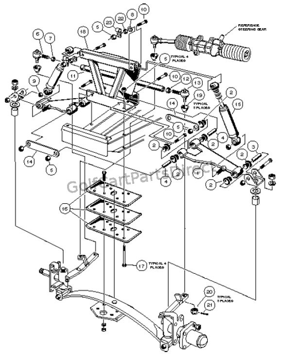front suspension  upper  u2013 w   4-wheel braking
