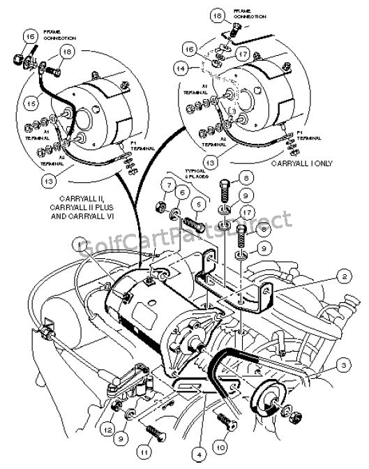 Legend Golf Carts Wiring Diagram 36 Volt