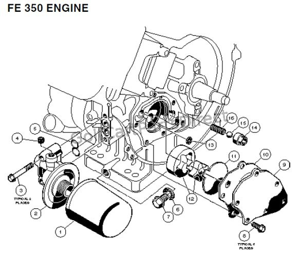 fe 350 engine - carryall 2 plus and 6  u2013 part 3