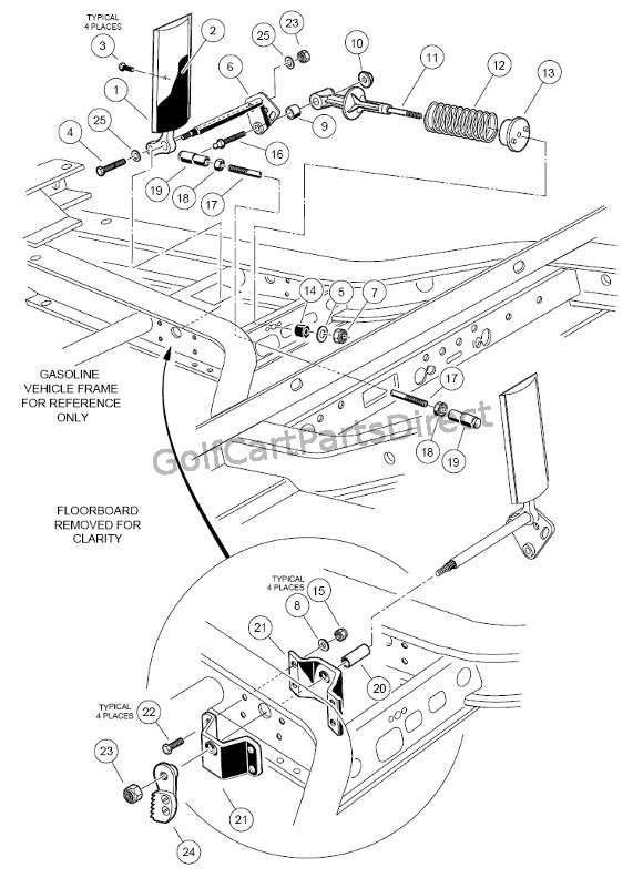 48v ezgo wiring diagram toyskids co 36 Volt Ezgo Wiring Diagram 1990 1998 1999 club car ds gas or electric club car parts ezgo rxv 48v wiring diagram