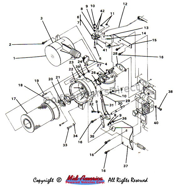 c2_air_cleaner 1984 1991 club car ds gas club car parts & accessories gas club car wiring diagram free at mifinder.co