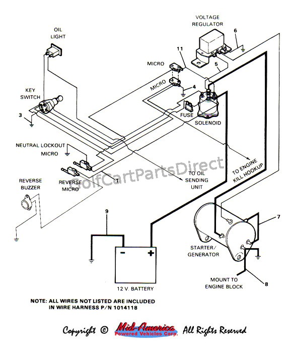 c2_final_wiring 1984 1991 club car ds gas club car parts & accessories yamaha golf cart voltage regulator wiring diagram at panicattacktreatment.co