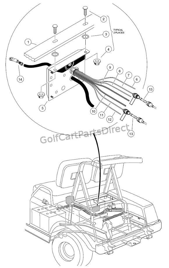 Wiring Diagram For Gas Powered Club Car : Club car gas ds or electric parts