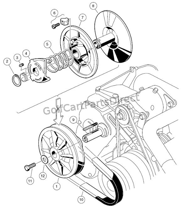 harley golf cart wiring