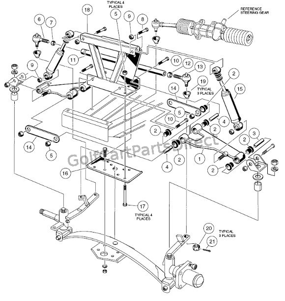 Car Front End Parts Diagram