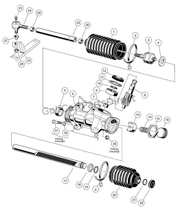 1996 club car carry all wiring diagram club car powerdrive 2 wiring diagram 1997 club car gas ds or electric club car parts #10