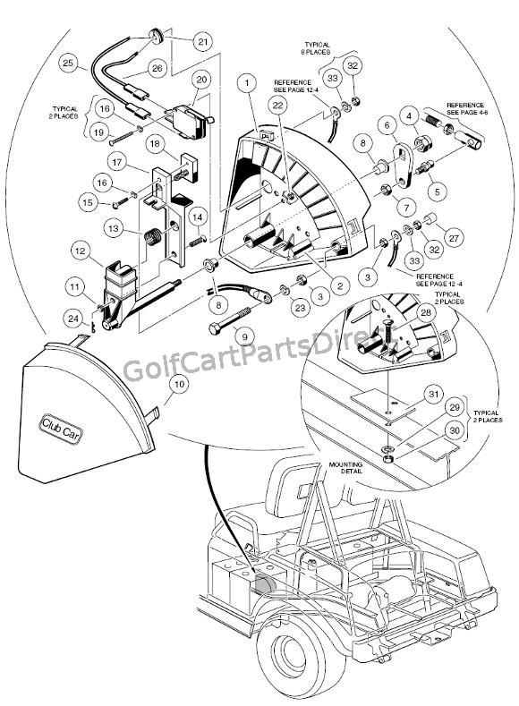 wiper switch 36v v glide club car parts & accessories Golf Cart Schematics or Diagrams  1994 Club Car Wiring Diagram 1991 Club Car Wiring Diagram Ezgo Golf Cart Parts Diagrams