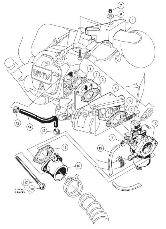2000 2005 club car ds gas or electric club car parts & accessories Club Car Transmission Diagram Club Car Transmission Diagram #24 club car transmission diagram