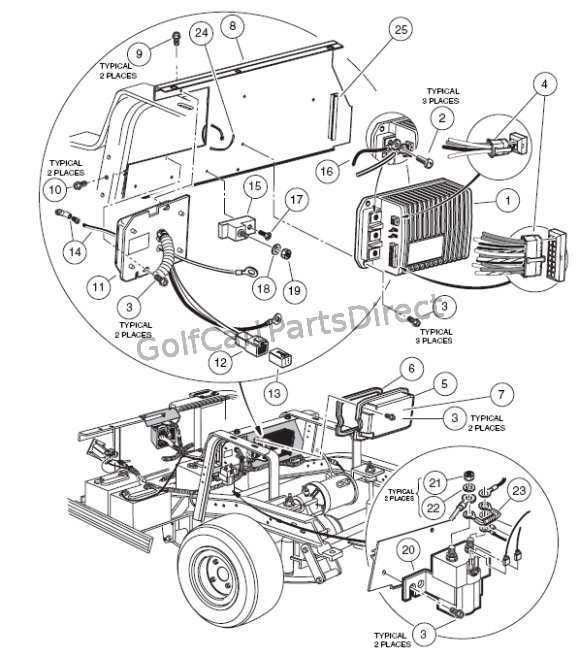 Club Car Suspension Parts Diagram
