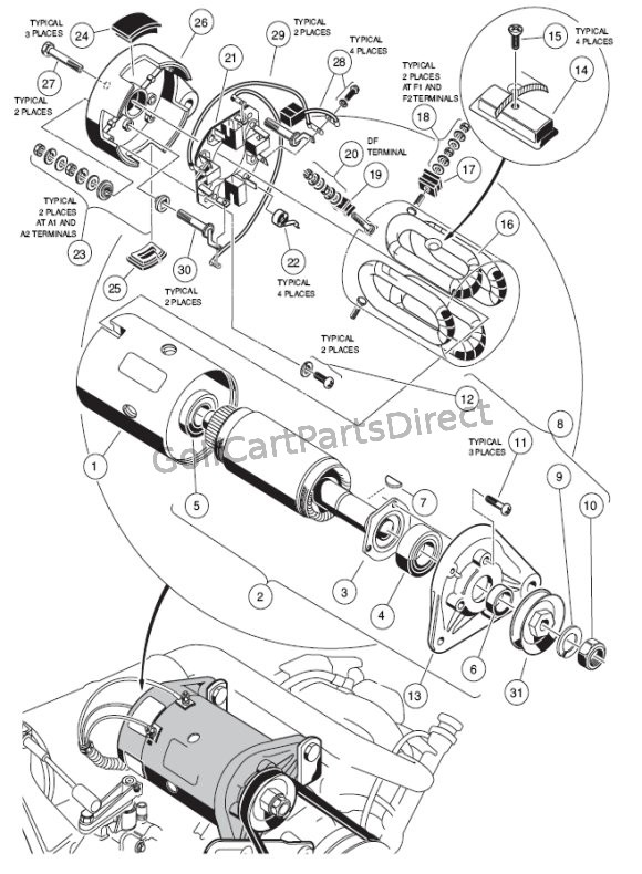 1993 Club Car 36v Wiring Diagram