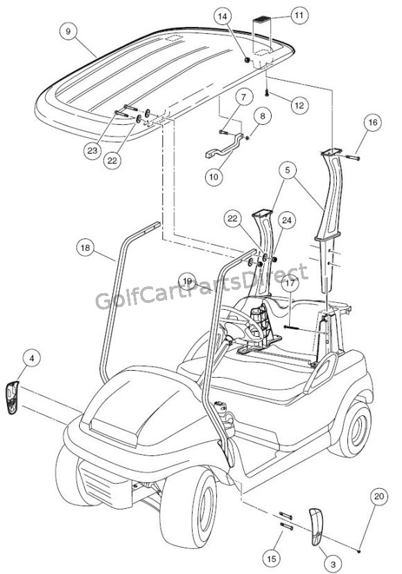 Club Car Precedent Parts List