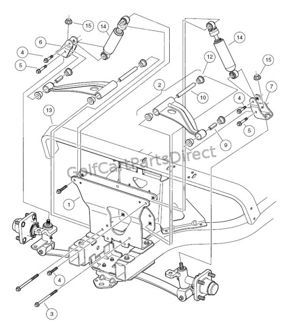 2006 Club Car Precedent Gas Wiring Diagram : Gas club car diagram precedent service