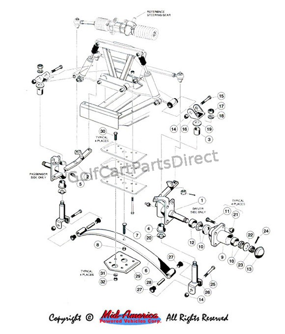 Ezgo Golf Cart Light Bar further 417 furthermore 281 also 3600 Ford Tractor Lift Embly Parts Diagram in addition 352. on ez go lift kit