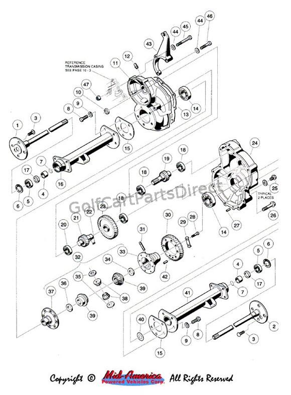 Transaxle Club Car Parts Amp Accessories
