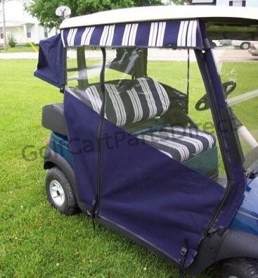Enclosure - Sunbrella Cloth - Club Car parts & accessories on golf cart side curtains, golf cart rain curtains, golf cart convertible top,